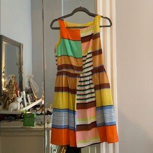 Patchwork A line dress
